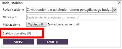 SzablonDomyslny